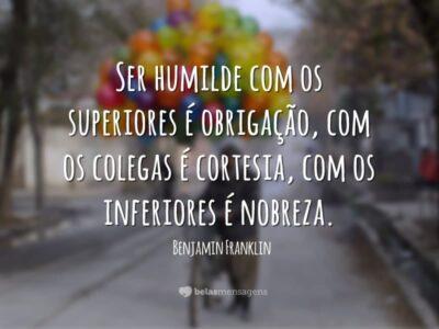 Frases sobre Humildade 6519