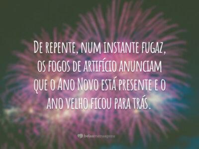 Te desejo um feliz Ano Novo