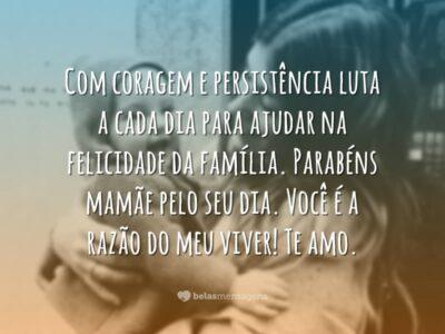 Declaração de amor para mãe