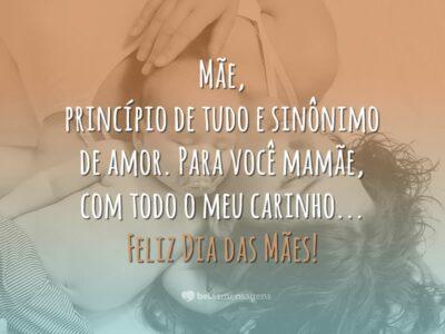 Mensagem Dia das Mães