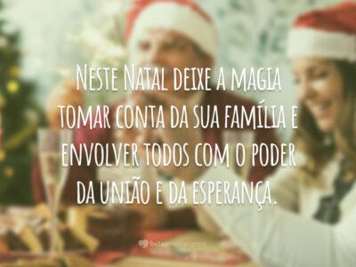 Pequena mensagem de Natal