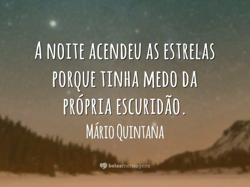 Boa Noite Mario Quintana: Frases De Boa Noite
