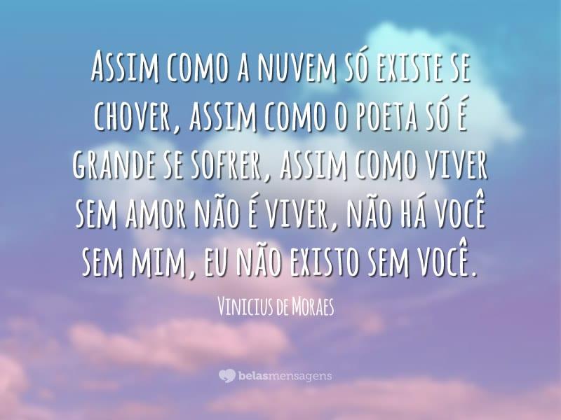 Frases De Vinicius De Moraes Belas Mensagens