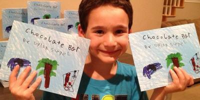 Menino de 6 anos escreve livro para ajudar amigo doente e arrecada $400 mil