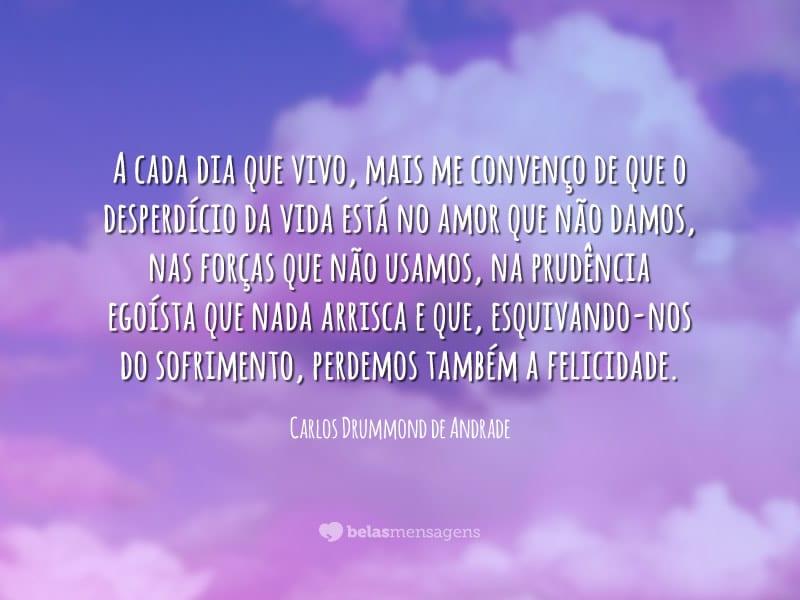 Frases De Carlos Drummond De Andrade Belas Mensagens