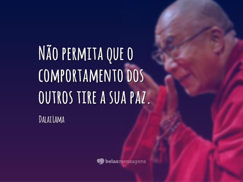 Sabedoria é Saber Que Eu Não Sou Nada O Amor é Saber Que: Frases De Dalai Lama