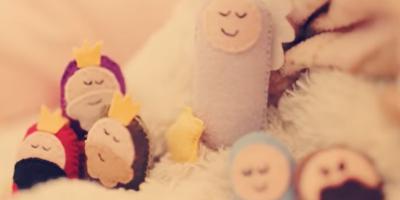 O primeiro Natal: a história do nascimento de Jesus contada por crianças