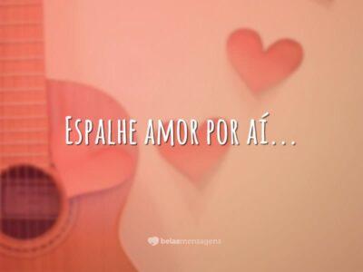 Espalhe amor