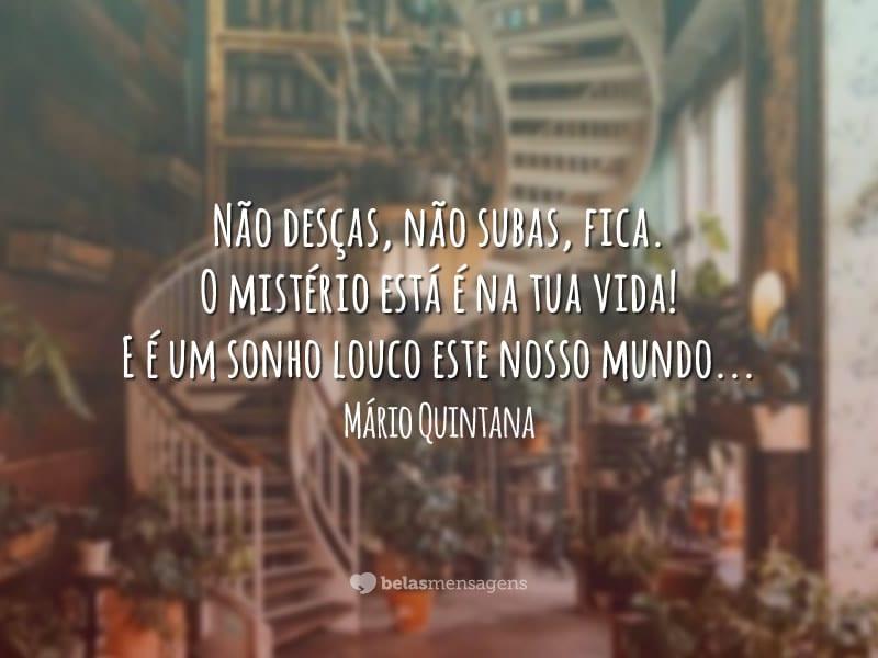 Boa Noite Mario Quintana: Belas Mensagens
