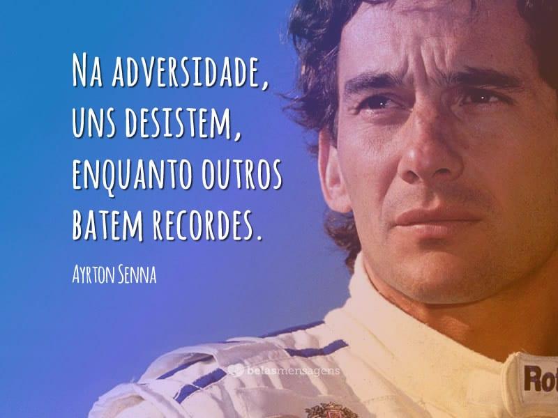 Frases De Ayrton Senna