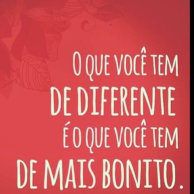 O que você tem de diferente