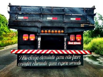 Frases De Caminhão Belas Mensagens