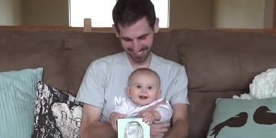 Pai com câncer terminal faz vídeo para se despedir da filha