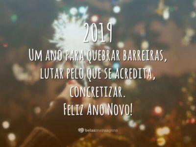 Mensagens De Ano Novo 2019 Belas Mensagens