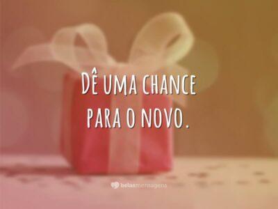 Dê uma chance