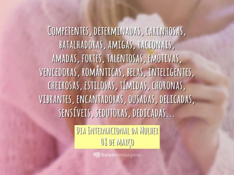 Frases Dia Da Mulher Belas Mensagens