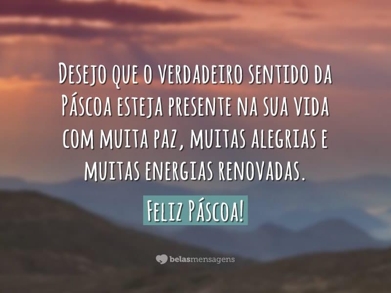 Frases De Páscoa: Muita Paz, Muitas Alegrias...