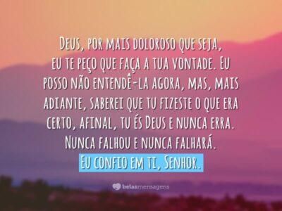 Eu confio em ti, Senhor