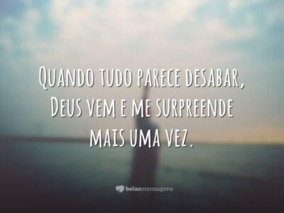 Surpresa de Deus