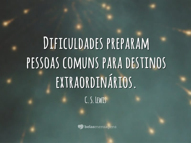 Frases De Superacao: Royalty Livre C S Lewis Frases