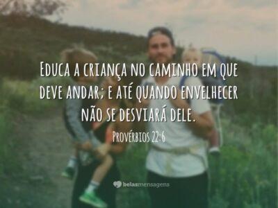 Educa a criança no caminho