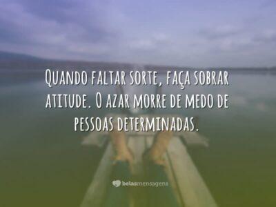 Faça sobrar atitude