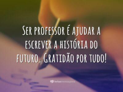 A história do futuro
