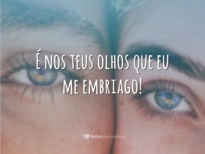 É nos teus olhos