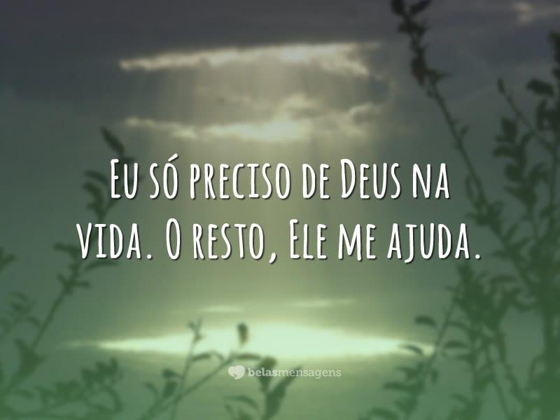 Só Preciso De Deus