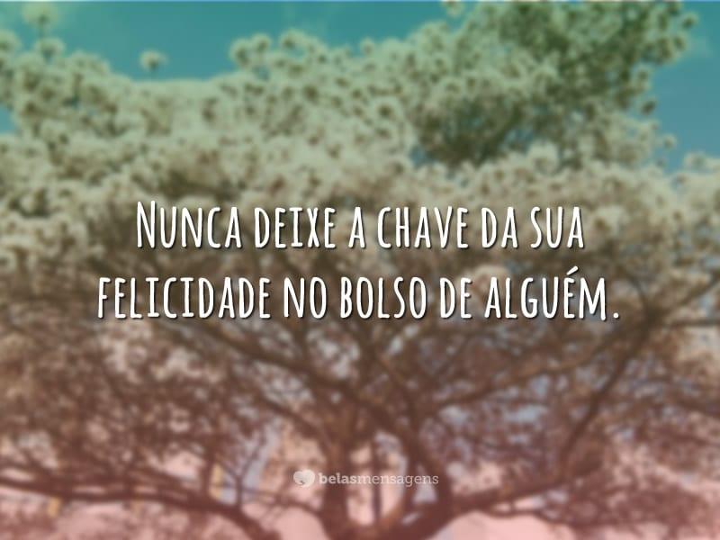 Nunca deixe
