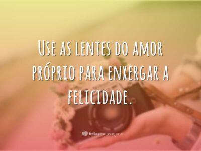Use as lentes do amor