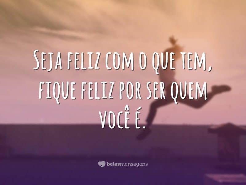 Seja feliz sempre