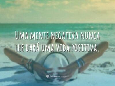 Uma mente negativa