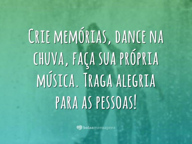 Crie memórias