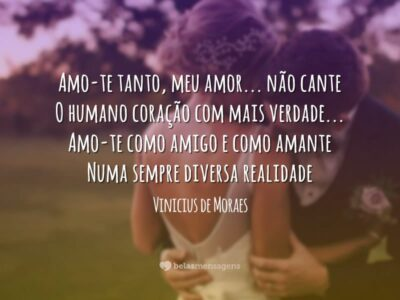 Soneto do amor total