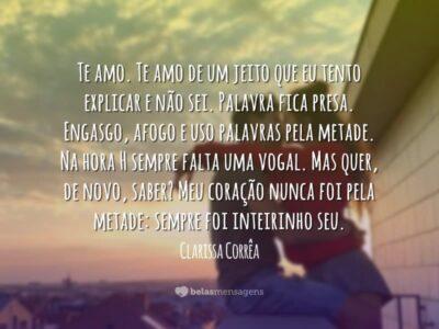Frases De Clarissa Corrêa Belas Mensagens