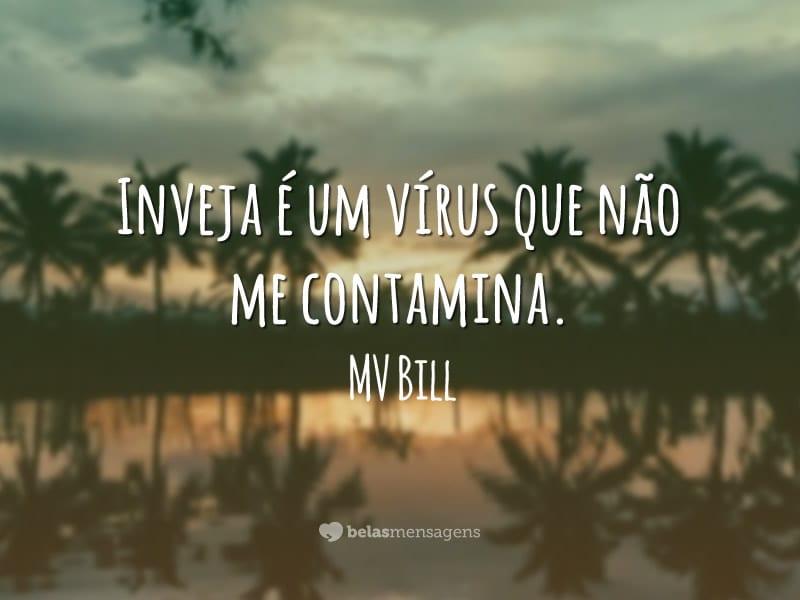 Inveja é um vírus