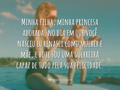 Minha filha, minha princesa
