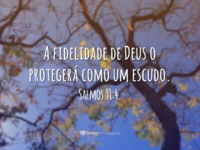 A fidelidade de Deus