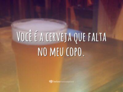 Cerveja no meu copo