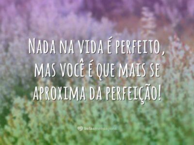 Nada é perfeito