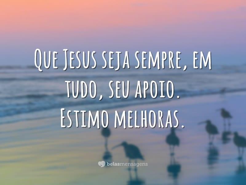 Que Jesus seja apoio