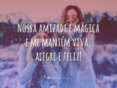 Nossa amizade é mágica