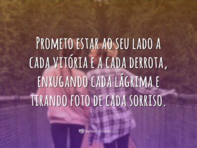 Prometo estar