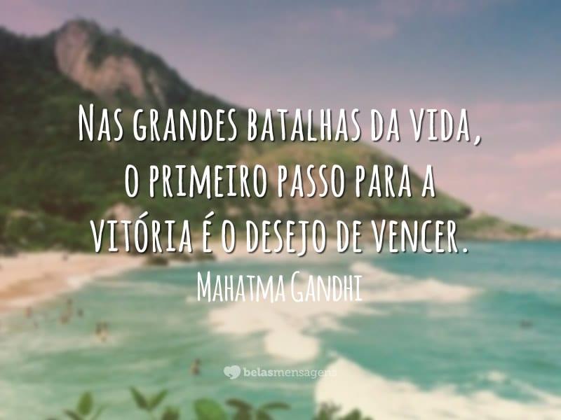 Frases De Vitória Na Vida: Frases De Mahatma Gandhi