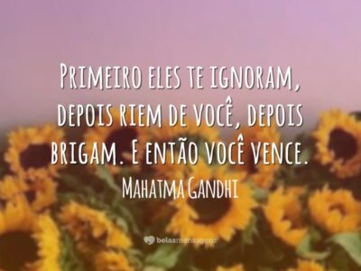 Frases De Mahatma Gandhi Belas Mensagens