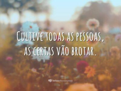 Cultive todas as pessoas