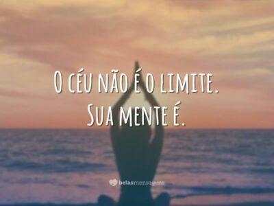 O céu não é o limite