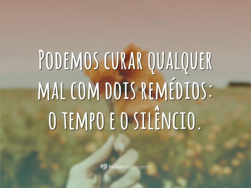 Tempo e silêncio