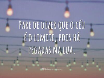 O céu não é limite